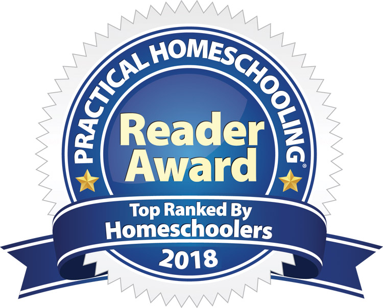 picture of Practical Homeschooling Award for 2018