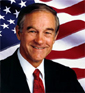 Former US Congressman Ron Paul
