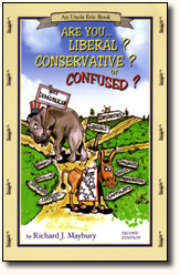 Book Cover Uncle Eric Talks About Are You Liberal Conservative or Confused