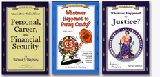 covers of three Uncle Eric books